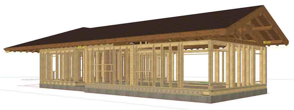 Ipema - Casa de madera pasiva - Parrillas 91