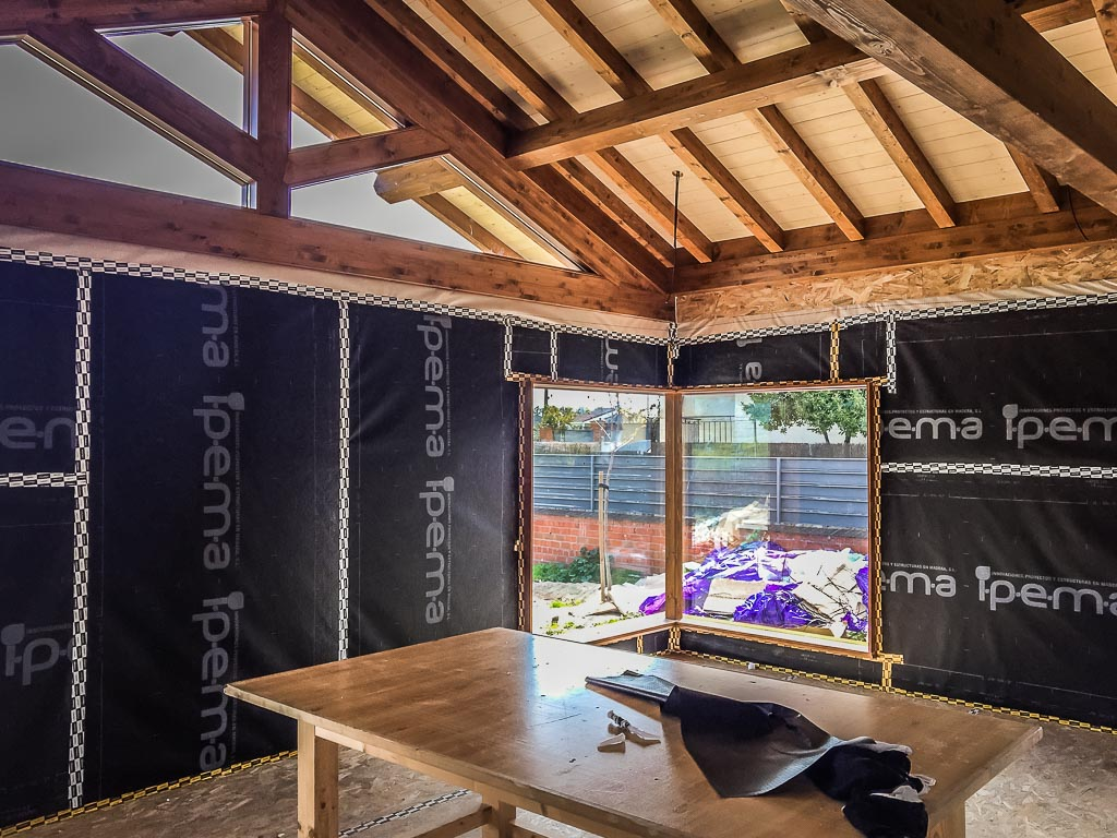 Ipema - Casa de madera pasiva - Parrillas25